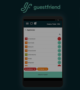 The Guestfriend App Provides Real Time Interaction Between Management, Staff and Guests